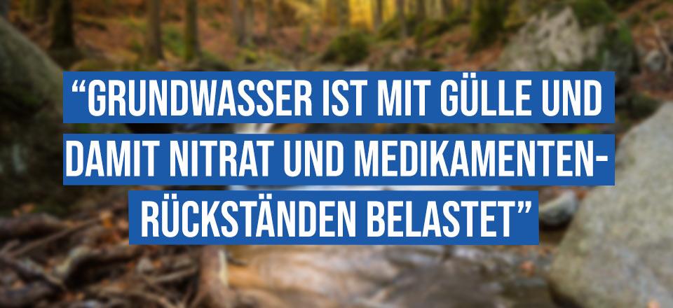 """TRINKWASSER: """"Versorgung langfristig in Gefahr""""?"""