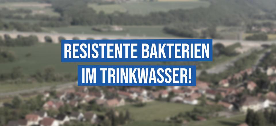 Resistente Bakterien im Trinkwasser in Jena